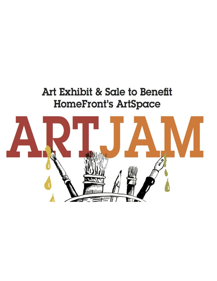 ArtJam pop-up exhibition on Palmer Square in Princeton benefits HomeFront