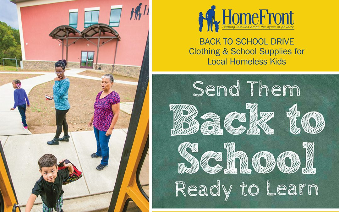 Help a Homeless Child Start the School Year Right!