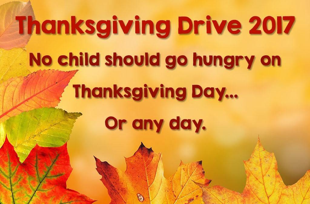 HomeFront's Thanksgiving Drive 2017