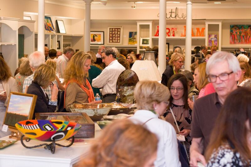 artjam crowd of people