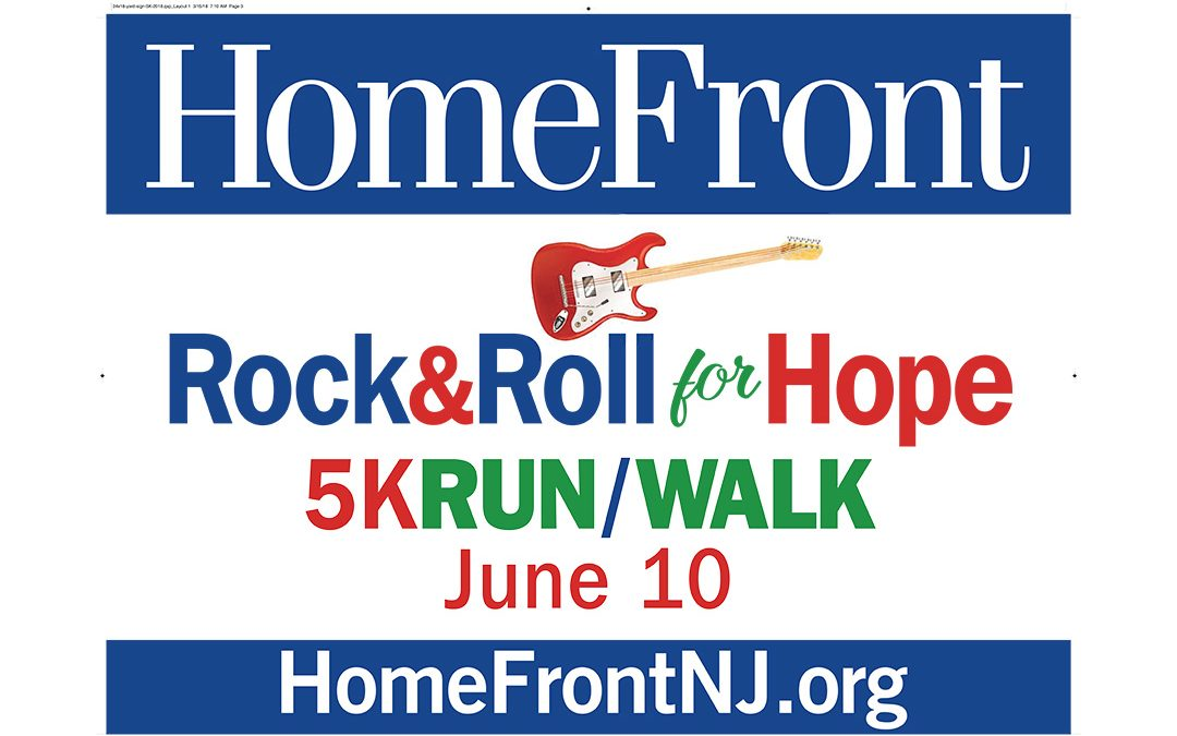 HomeFront Rock & Roll For Hope 5K and 1 Mile Run/Walk