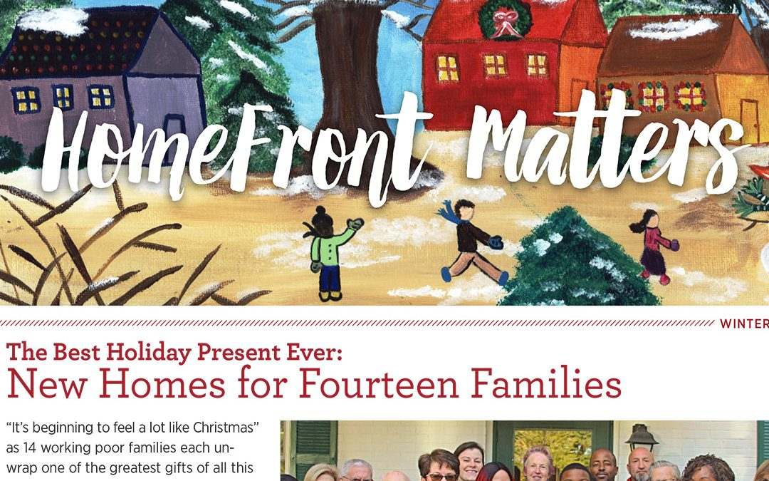 HomeFront Matters, Winter 2018