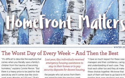 HomeFront Matters, Winter, 2019