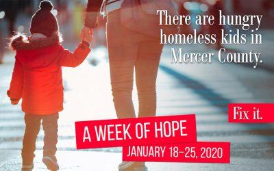 Week of Hope: Get Involved