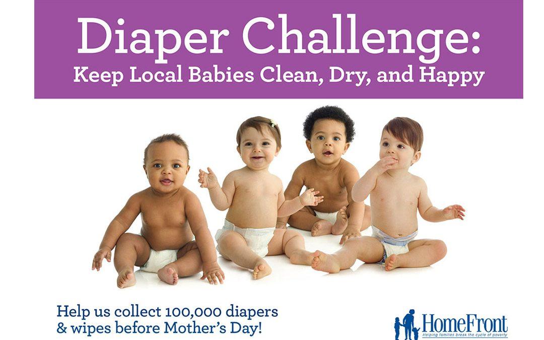 Diaper Challenge Underway