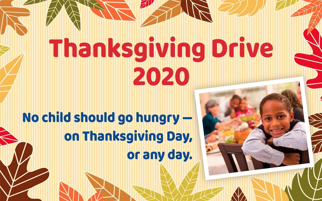 Thanksgiving Drive 2020