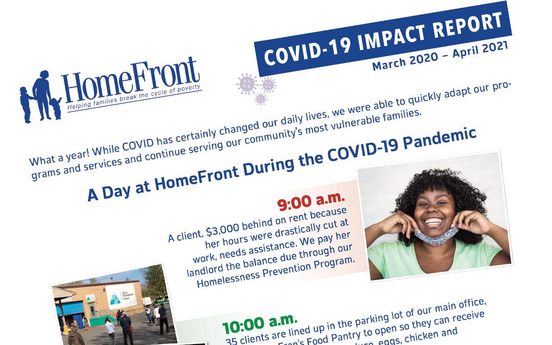 Covid-19 Impact Report – March 2020-April 2021