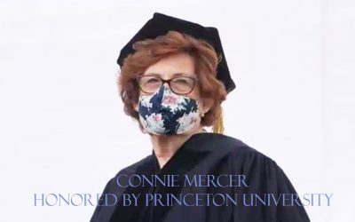Mercer Receives Honorary Degree from Princeton University