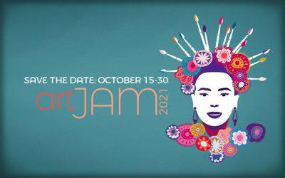 ArtJam 2021 – Friday, October 15 to Saturday October 30