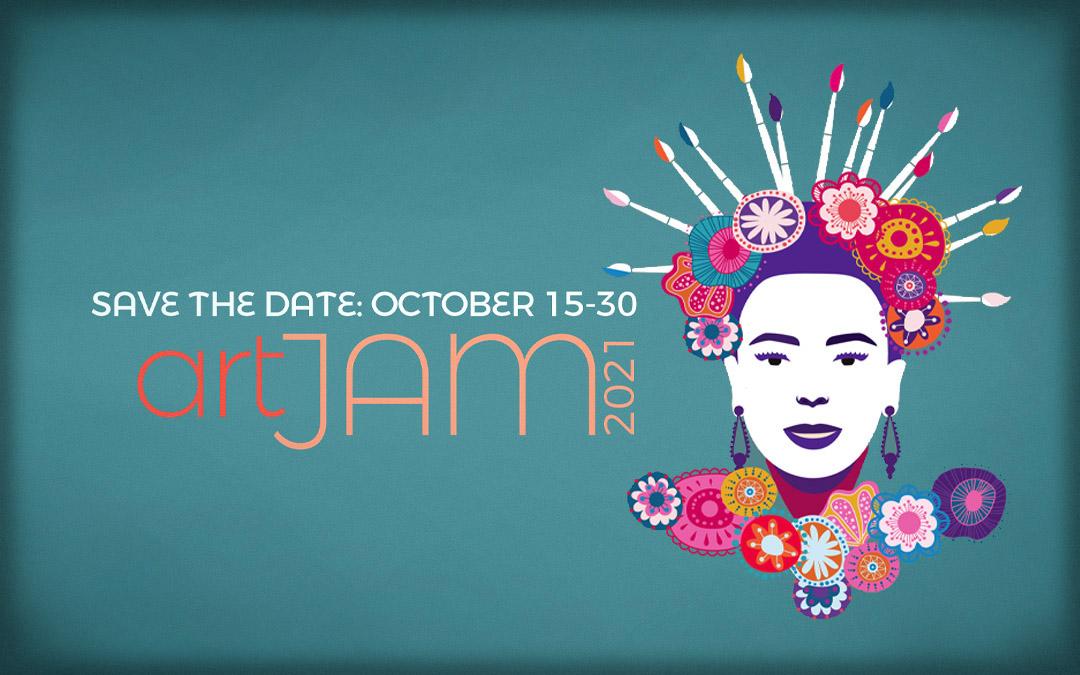 Save the Date – ArtJam 2021 – October 15-30